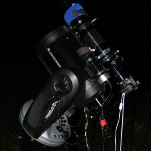 Celestron CPC800 with Equinox 80 APO refractor which was used to take some of the images you will see here.