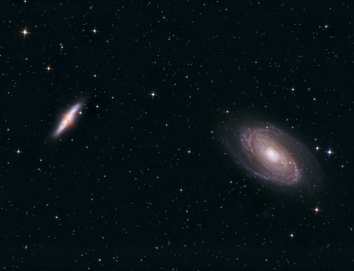 M81 and M82 Galaxies