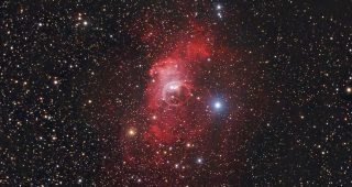 NGC 7635 The Bubble Nebula. August 2010.