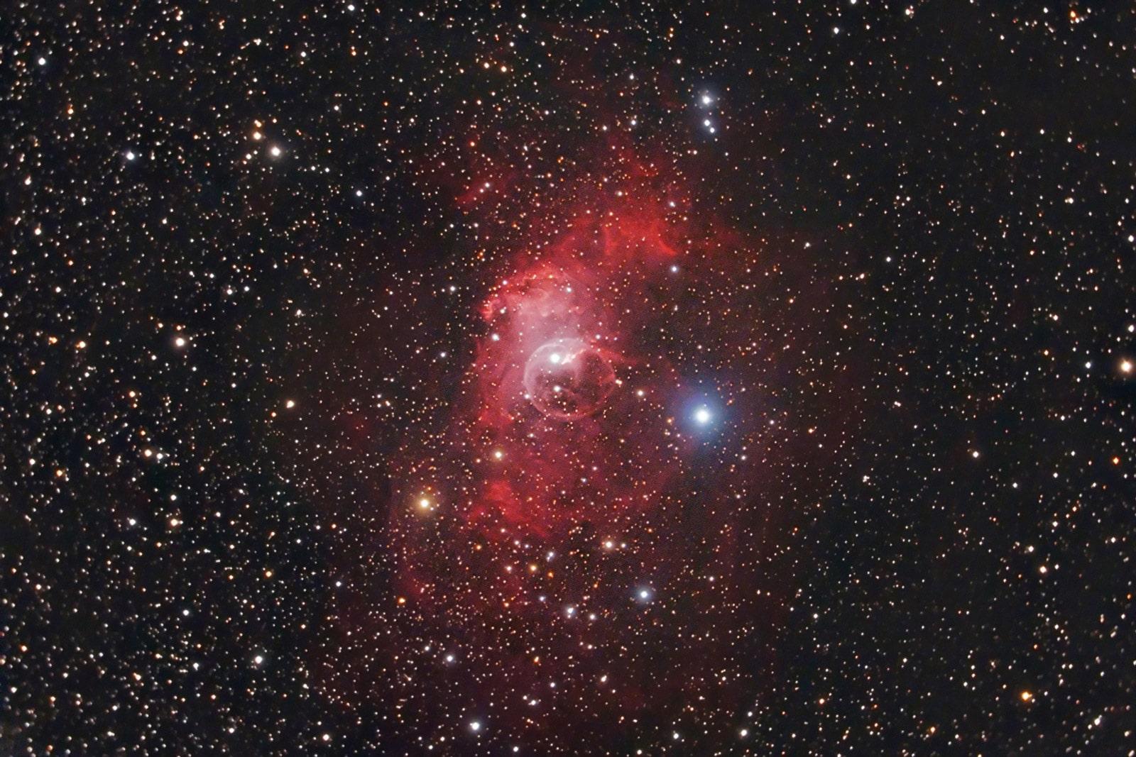 NGC 7635 The Bubble Nebula. August 2010.