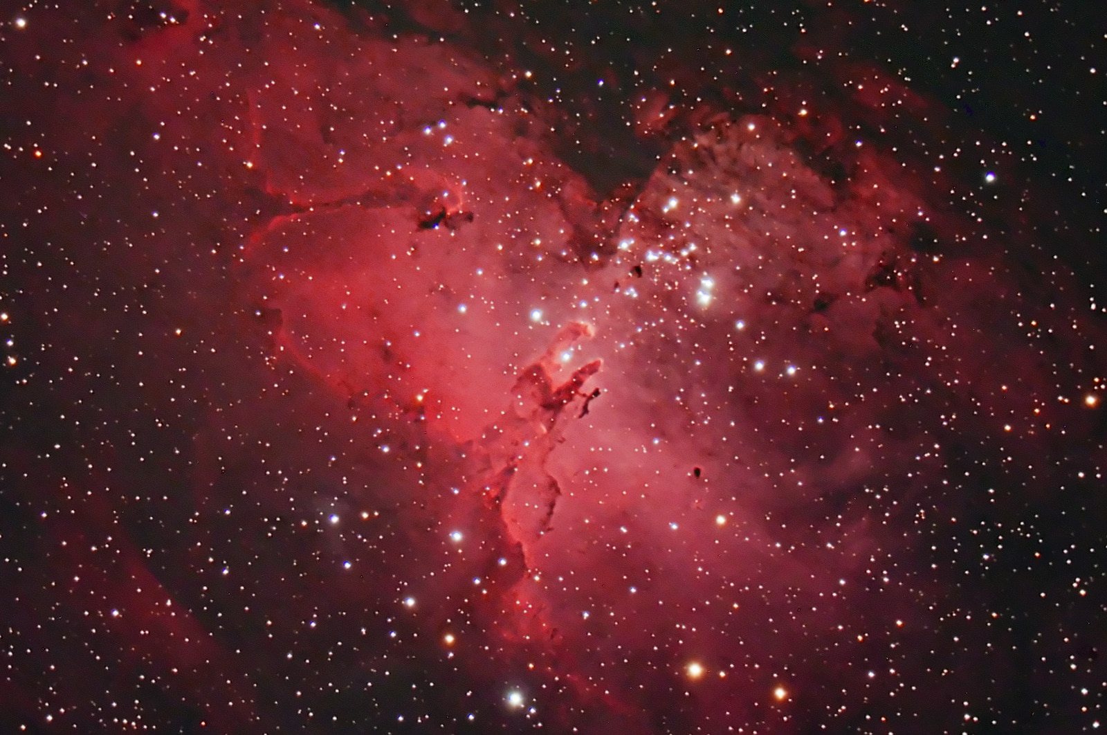 M16 Eagle Nebula reprocess