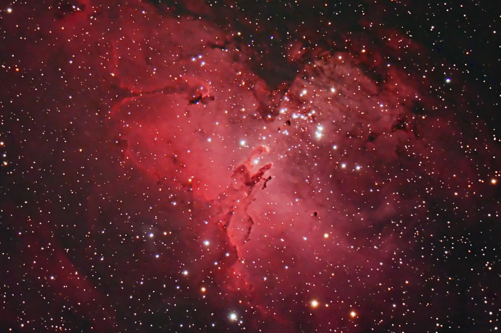 M16 Eagle Nebula reprocess