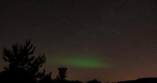 Northern Lights June 4, 2013, Ontario, Canada