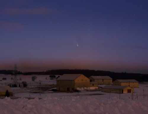 Comet Panstarrs over Waterloo Region