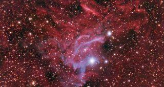 IC405 Flaming Star Nebula. November 2010.