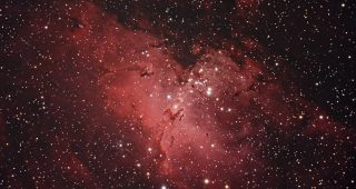 M16 The Eagle Nebula, August 2010.