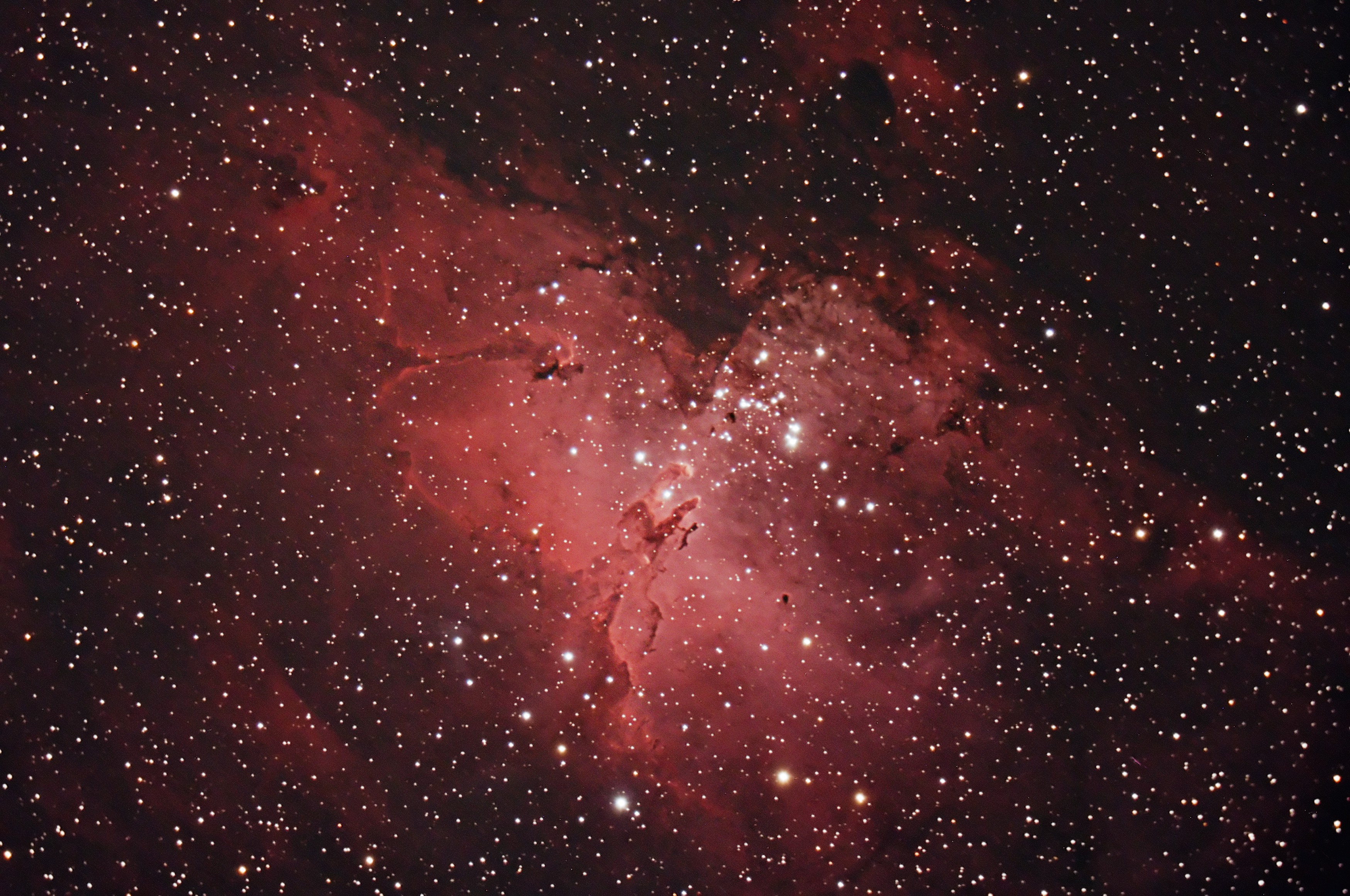 M16 The Eagle Nebula, August 2010.