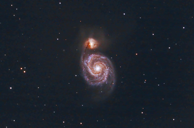 M51 The Whirlpool Galaxy - Shawn Nielsen 2011
