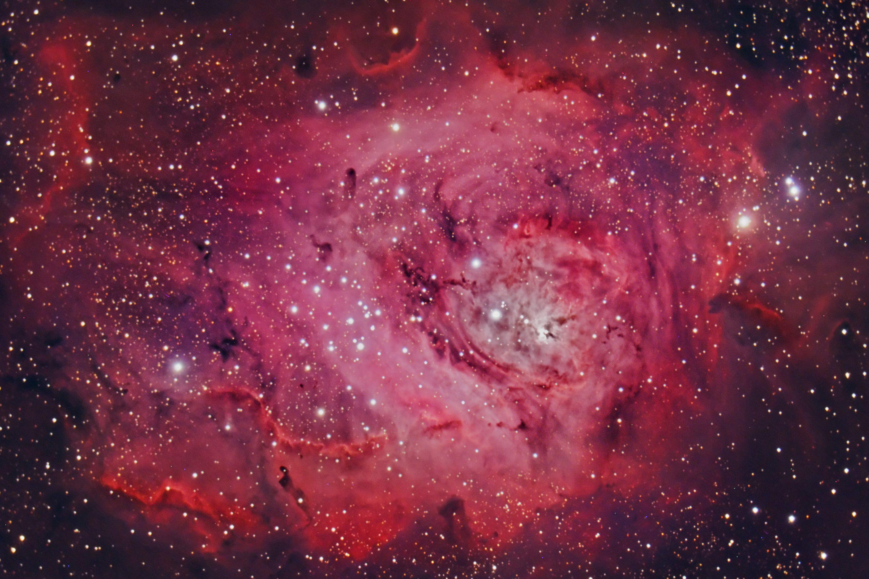 M8 The Lagoon Nebula. July 2010