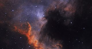 Cygnus Wall in NGC 7000. Shawn Nielsen, 2014