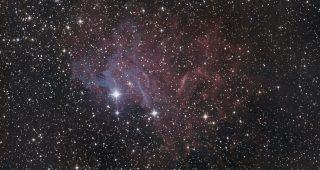 IC405 Flaming Star Nebula in Auriga. Shawn Nielsen 2013