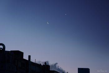Moon and Venus February 26, 2014