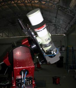Takahashie FSQ 106 astrophotography telescope at Siding Springs Observatory in Australia
