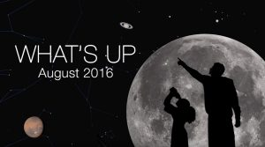 night sky events for August
