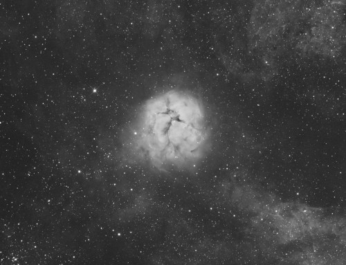 M20 test image with ASA 16″ astrograph