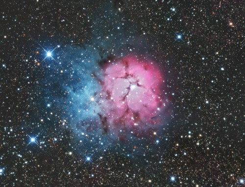 Return to M20 the Trifid Nebula