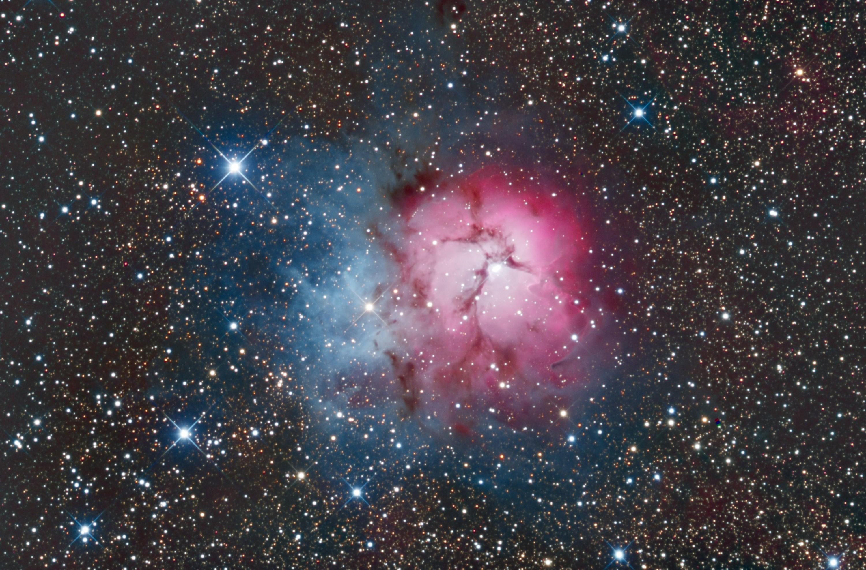 M20 nebula re-processed Jan 2019