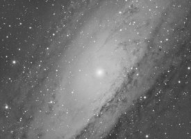 M31 test image taken with ZWO ASI1600MM-Cooled camera