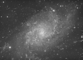 M33 shot with ASI1600MM-C camera and Celestron 9.25 SCT at F6.3 - 70 x 90sec exposures stacked.