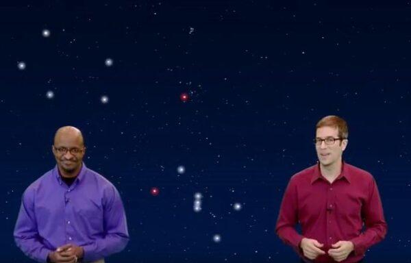 Orion returns to the December night sky stargazing