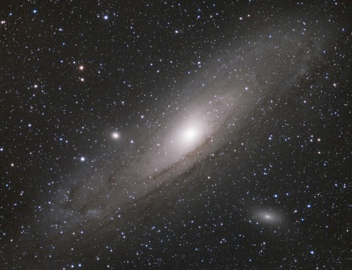 M31 90min LRGB test using ASI1600mm-cooled CMOS camera