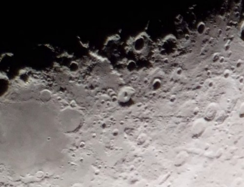 Video of Moon using a smartphone