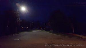Waterloo Region LED street lights