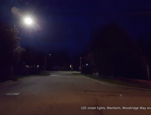 Waterloo Region LED street lights conversion