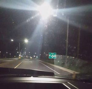 Glare from LED street lights can be distracting and dangerous for motorists and pedestrians.