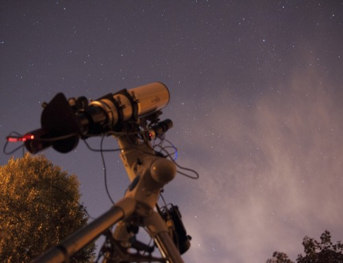 Esprit 100 telescope and ASI camera imaging the distance cosmos