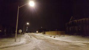 LED street lights in Wellesley Ontario Waterloo Region