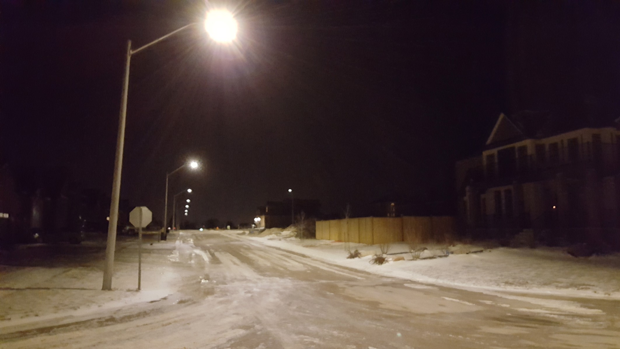 Waterloo Region LED street lights conversion - VisibleDark for led street light at night  45ifm