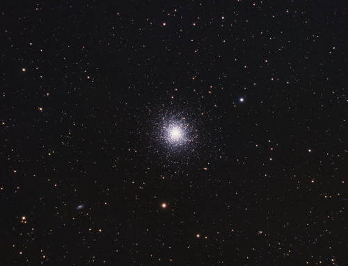 M13 first light with Esprit 100 triplet refractor