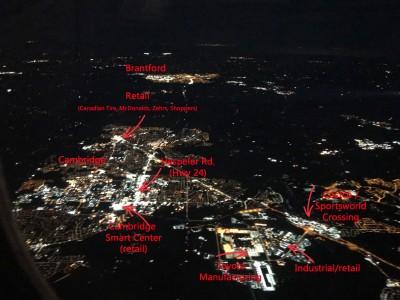 Cambridge Ontario environmental light pollution