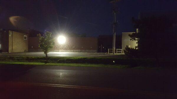 Heroux-Devtek LED light pollution - before