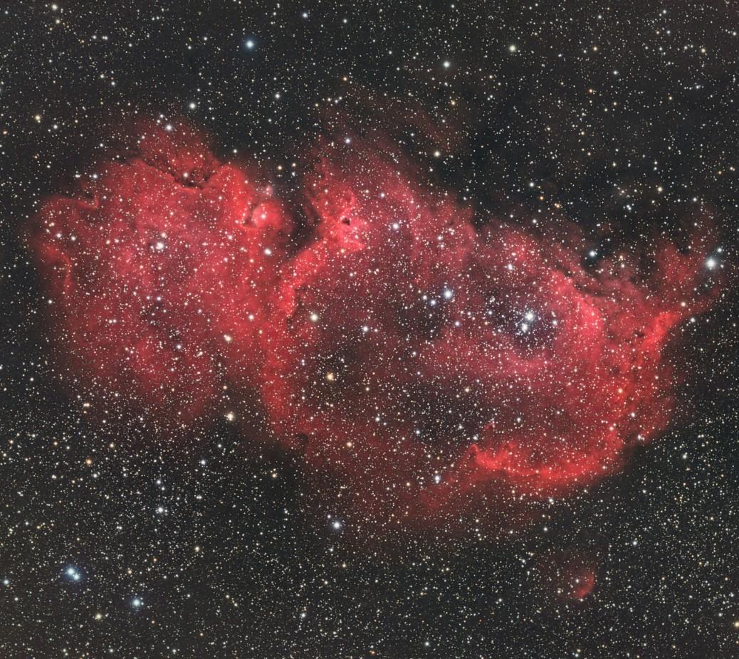 IC1848 The Soul Nebula
