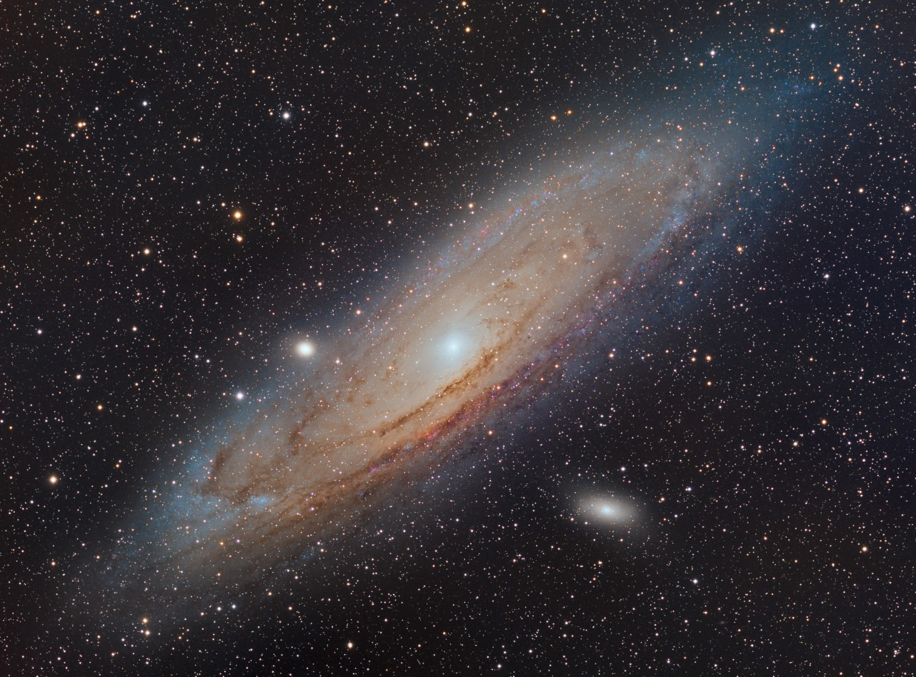 A recent image of M31 I took with a Skywatcher Esprit 100 and Moravian 16200EC CCD.
