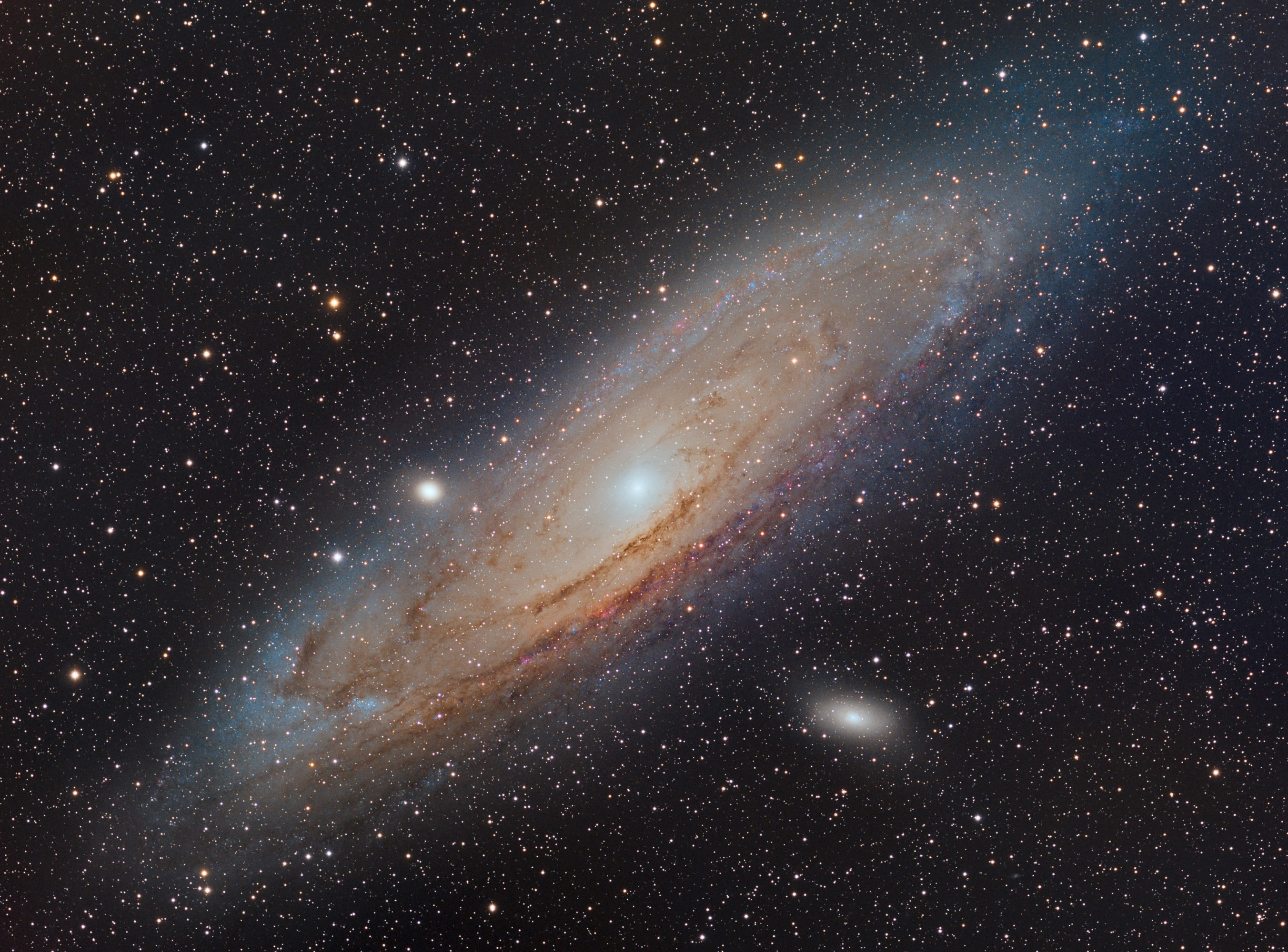 m31 andromeda galaxy with Esprit 100 and Moravian G3-16200EC -sLRGB