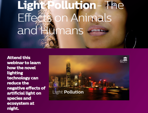 Philips Lighting webinar on light pollution