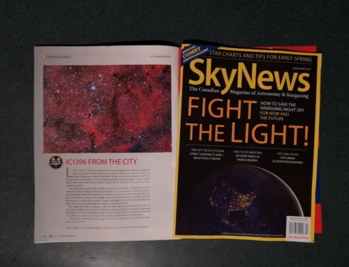 My article and image of IC1396 in Skynews magazine Mar/Apr 2019