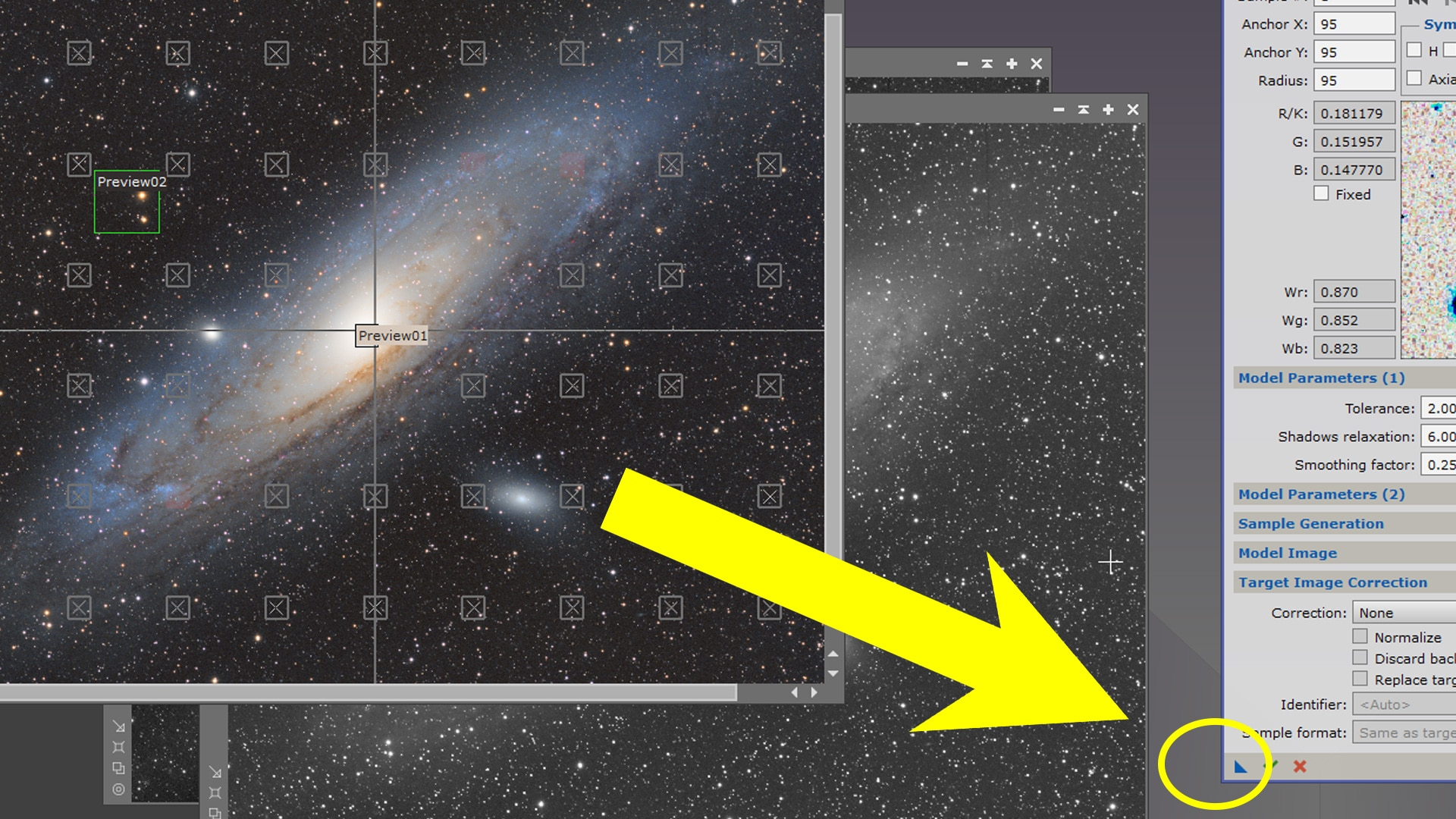icons in pixinsight