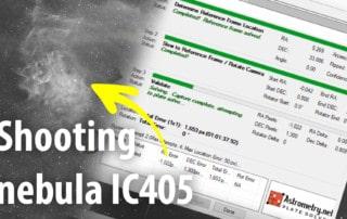 IC405 nebula