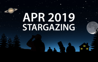 April 2019 stargazing