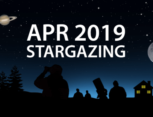 April 2019 Stargazing – what you can see!
