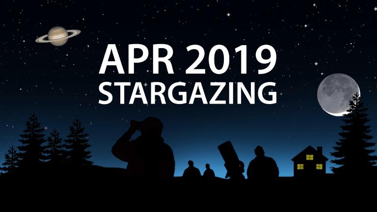 April 2019 stargazing