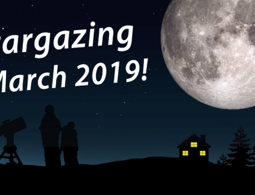 Stargazing for March 2019!