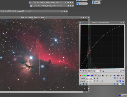 How to process the HorseHead and Flame Nebula in Pixinsight