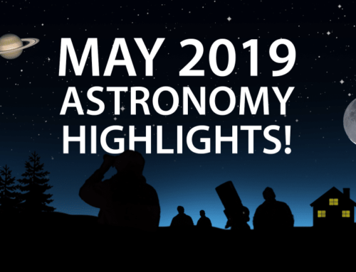 May 2019 Stargazing – what you can see!