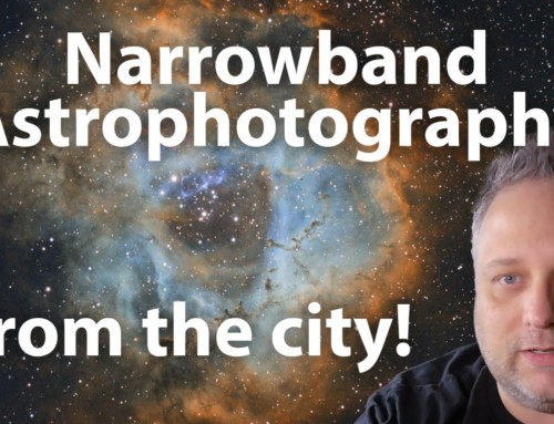 Narrowband astrophotography from the city!