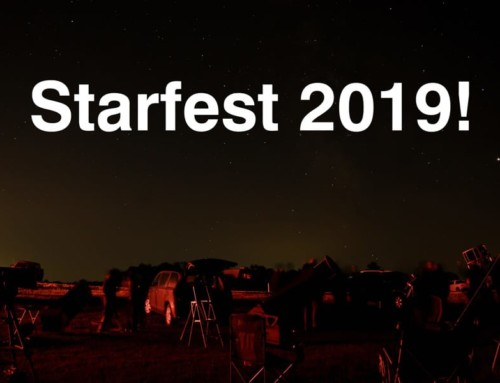 I went to the Starfest 2019 star party!
